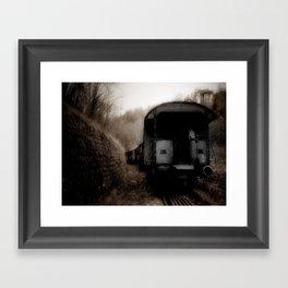 The Ghost Train II Framed Art Print