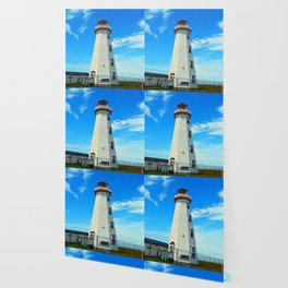 North Cape Lighthouse window wall Wallpaper