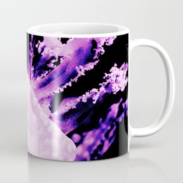 Purple Jellyfish Under the Sea Underwater Photography Saturated Color Framed Lustre Wall Art Print Coffee Mug