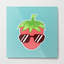 Strawberry Fresh Metal Print