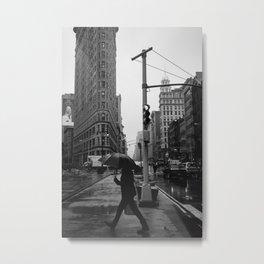 Rainy New York V Metal Print