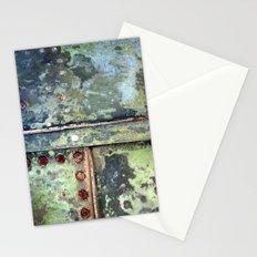 Steel Grunge Stationery Cards