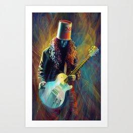 Buckethead Art Print