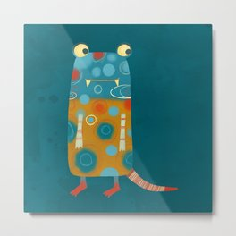 Monster Esme Metal Print