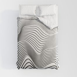 Wave Stripes Curve Comforters