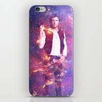 han solo iPhone & iPod Skins featuring Han Solo by MaNia Creations