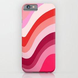 Retro Waves 4 iPhone Case