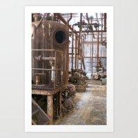 factory1 Art Print
