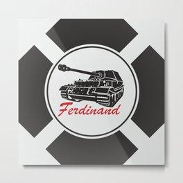 Ferdinand Metal Print