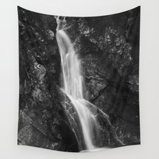 Waterfall in Hell Gorge, Slovenia Wall Tapestry