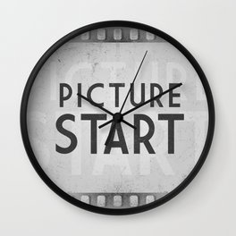 Picture Start Frame Wall Clock