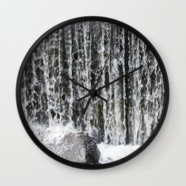 Waterfall II Wall Clock