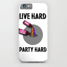 Live Hard, Party Hard - Afroki iPhone 6s Slim Case
