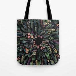 focus flowers Tote Bag
