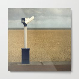 The Telescope, Great Yarmouth Metal Print