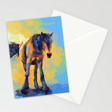 Horse in the Sunlight Stationery Cards