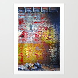 The Stone Wall Art Print
