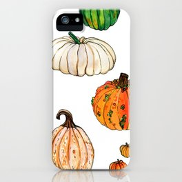 It's the great... pumpkins! iPhone Case