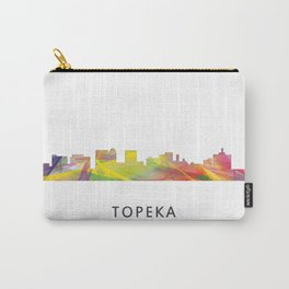 Topeka, Kansas Skyline WB1 Carry-All Pouch