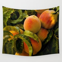 Peaches for me Wall Tapestry