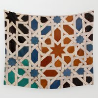 mosaic Wall Tapestries featuring Mosaic by Ivo Becker