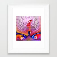 dragon Framed Art Prints featuring Dragon by haroulita
