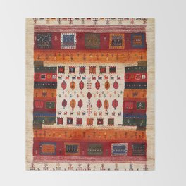 N38 - Epic Bohemian Traditional Andalusian Moroccan Artwork Throw Blanket