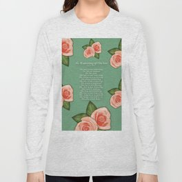 No Waivering of His love By Feon Davis Long Sleeve T-shirt
