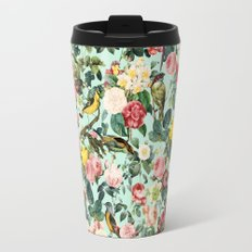 Floral and Birds III Travel Mug