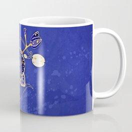 Egyptian Blue :: Orchid Coffee Mug