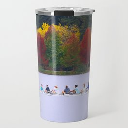Autumn Row Travel Mug