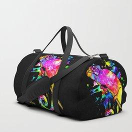Chameleon Splash Duffle Bag