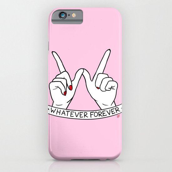 WHATEVER FOREVER iPhone & iPod Case