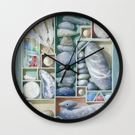 Atlantic Collection - Found Objects Wall Clock