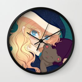 Sleepy Wall Clock