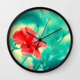 Tropical Exuberance II Wall Clock