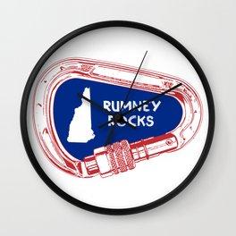 Rumney Rocks Climbing Carabiner Wall Clock