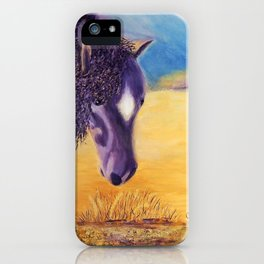We graze | On broute iPhone Case
