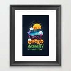 Leslie Knope Poster Framed Art Print