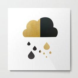 Rain Cloud Metal Print