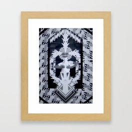 CHECKPOINT CHARLOTTE Framed Art Print