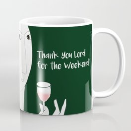 Thank you Lord for the Weekend Coffee Mug