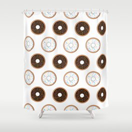 Donuts-licious Shower Curtain