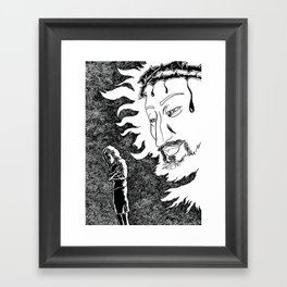 Someone Watching Over Me Framed Art Print