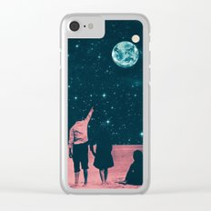 Once Upon A Time on Mars or Children of Mars Clear iPhone Case