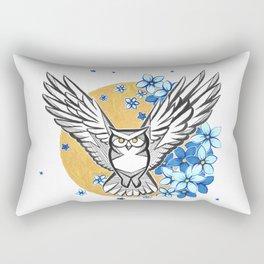 Oracle Owl Rectangular Pillow