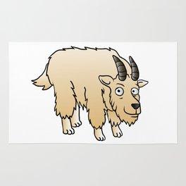 Mountain Goat Mascot Rug
