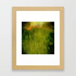 changed my focus Framed Art Print