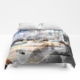 New York City | Geometric Mix No. 9 Comforters