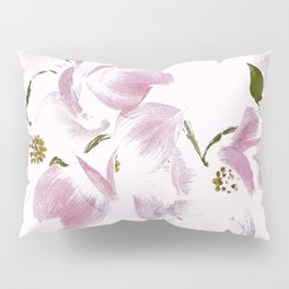 Dogwood Tree Flowers-pink Pillow Sham